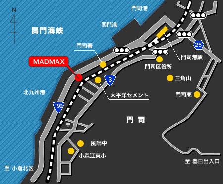 MADMAX地図